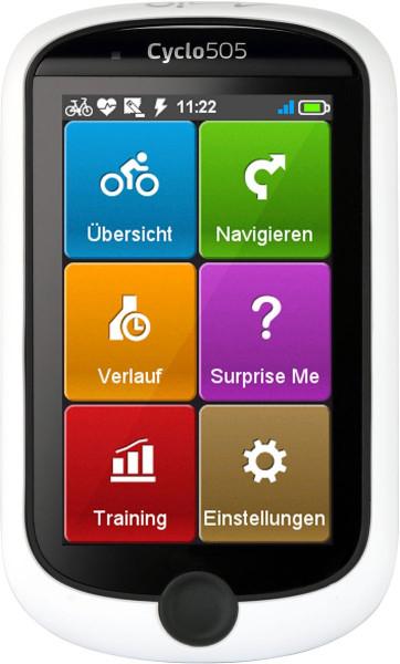 Mio Fahrradnavigation Cyclo 505HC 3 Zoll Farbdisplay Outdoor Bluetooth WLAN WIFI