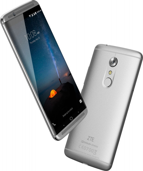 "ZTE Axon 7 grau 64GB Dual SIM LTE Android Smartphone 5,5"" Display ohne Simlock"