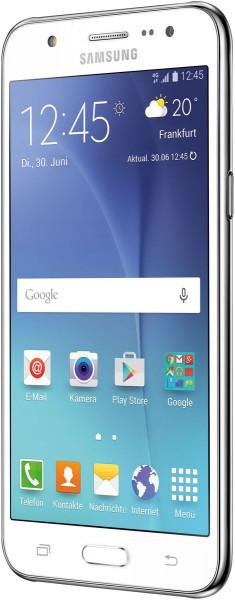 "Samsung Galaxy J5 weiß Android Smartphone 5"" Display ohne Simlock 13 Megapixel"