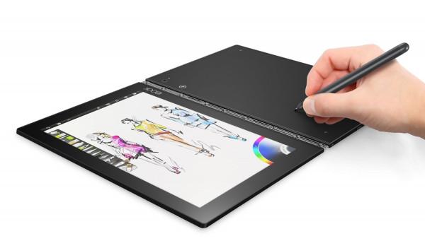 "Lenovo YOGA Book grau 64GB LTE WLAN WIFI Android Tablet PC 4GB RAM 10,1"" Display"