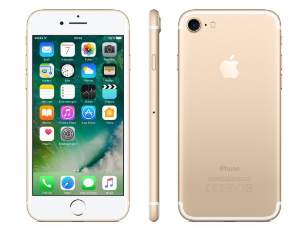 Apple iPhone 7 32GB Gold LTE iOS Smartphone ohne Simlock 4,7 Zoll 12MPX Kamera