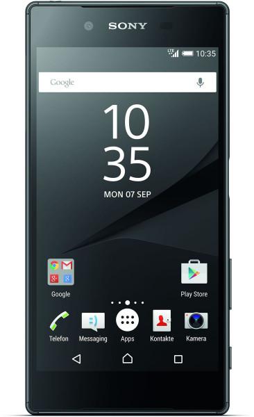 Sony Xperia Z5 schwarz 32GB LTE 5,2 Zoll Android Smartphone ohne Simlock 23 MPX
