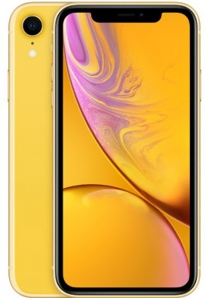 "Apple iPhone XR Gelb 128GB LTE iOS Smartphone 6,1"" Display 12 Megapixel eSim 4K"