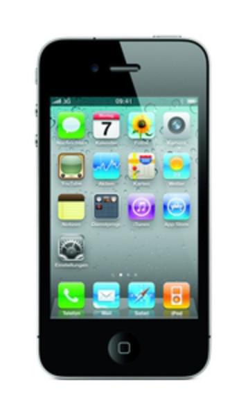 Apple iPhone 4 32GB schwarz 3,5 Zoll Smartphone ohne Simlock