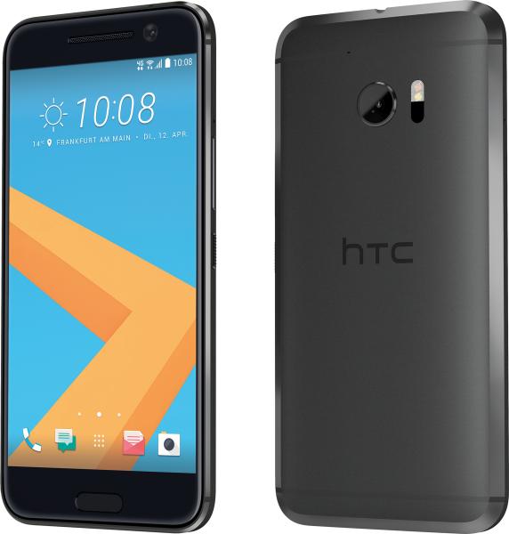 "HTC 10 grau 32GB LTE Android Smartphone ohne Simlock 5,2"" Display 12 Ultrapixel"