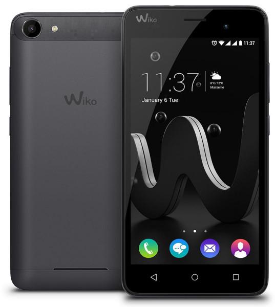 Wiko Jerry Schwarz Grau Android 6.0 5 Zoll Display 16GB Speicher ohne Simlock