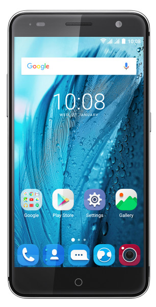"ZTE Blade V7 grau LTE Dual Sim 16GB Android 5,2"" Smartphone ohne Simlock 13MPX"