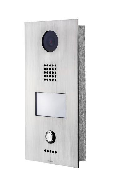 Wantec MONOLITH C IP Vision 1T 1-Taste inkl. HD-Kamera Türsprechstelle