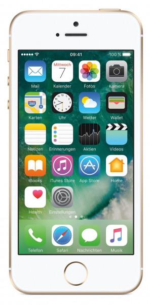 Apple iPhone SE 64GB Gold 4 Zoll Display iOS LTE Smartphone ohne Simlock 12 MPX