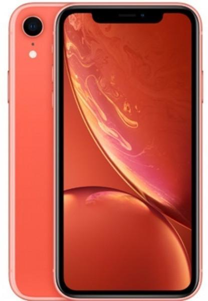 "Apple iPhone XR Koralle 256GB LTE iOS Smartphone 6,1"" Display 12 Megapixel eSim"
