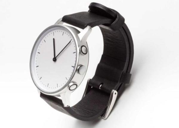 NEVO Paris S Lederband Fitness Schlaf Tracker Smartwatch Schrittzahl Kalorien
