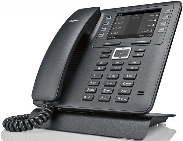 Gigaset Maxwell 2 Kabelgebundenes IP-Telefon schwarz
