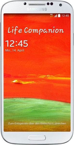 "Samsung Galaxy S4 I9515 16GB weiß LTE Android Smartphone ohne Simlock 5"" Display"