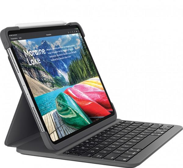 Logitech Slim Folio Pro iPad Pro 11 black FR grau