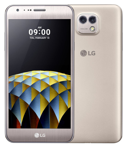 """LG X Cam gold 5,2"""" Display Android Smartphone 16GB Speicher ohne Simlock 13MPX"""