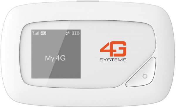 4G Systems XSBox LTE Plus weiß mobile WLAN Hotspot 4G 300Mbit/s max. WLAN
