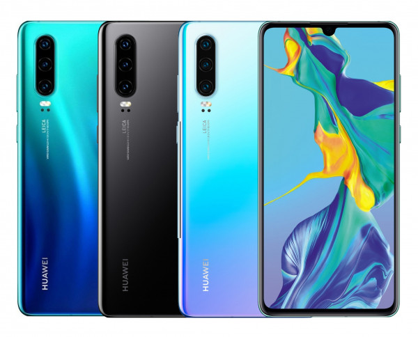 "Huawei P30 DualSim 128GB LTE Android Smartphone 6,47"" OLED Display 40 Megapixel"