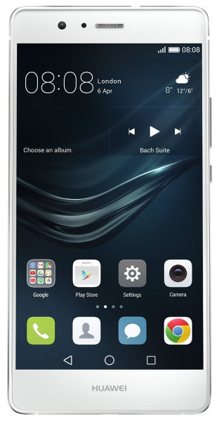 "Huawei P9 lite weiß single SIM 5,2"" 16GB LTE Android Smartphone ohne Simlock"