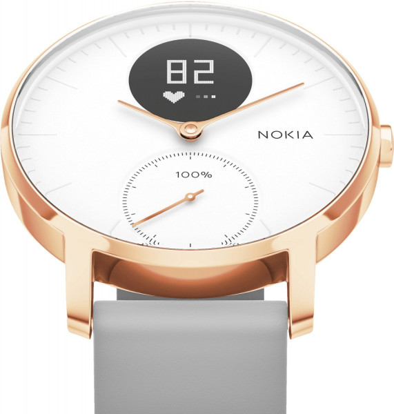 Withings STEEL HR ROSE GOLD, 36mm white