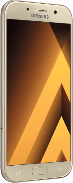 Samsung  A520F Galaxy A5 2017 gold 32GB LTE Android Smartphone ohne Simlock 5,2""