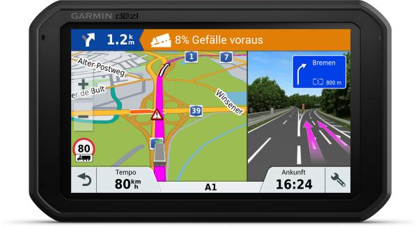 """Garmin dezl 780 LMT-D - TRUCK Navigation Europa 7"""" Touchscreen Bluetooth WiFi"""