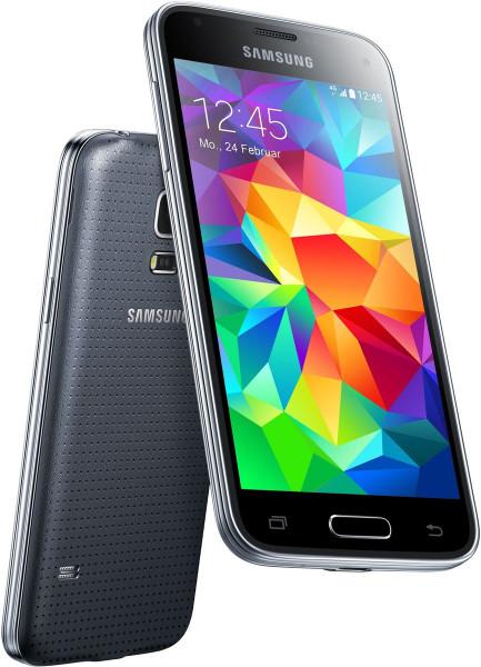 "Samsung Galaxy S5 mini schwarz 16GB LTE Android 4,5"" Smartphone ohne Simlock 8MP"