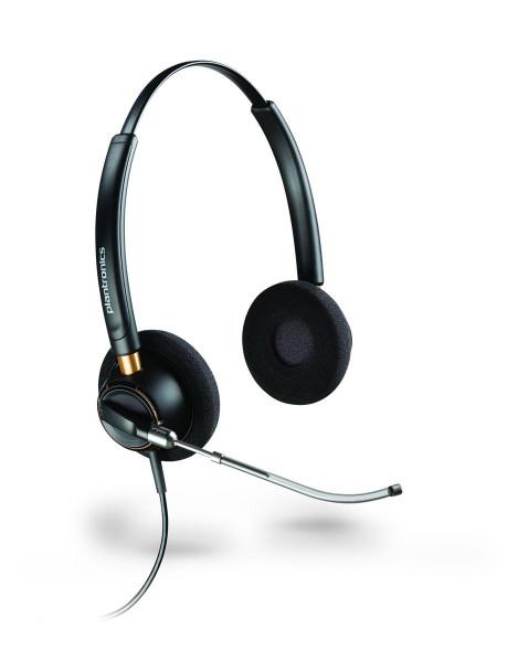 Plantronics Headset EncorePro HW520V binaural QD 3,5mm Klinke Stereo