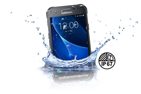 Samsung G389F Galaxy Xcover 3 dunkelgrau 8GB VE LTE Android Outdoor Smartphone