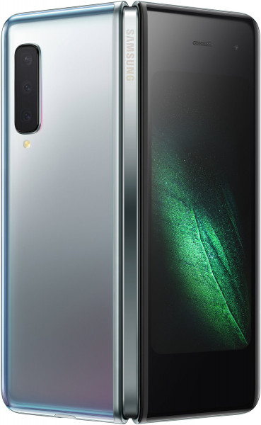 """Samsung F907 Galaxy Fold 5G 512GB silber LTE Android Smartphone 7,3"""" + 4,6"""" 16MP"""