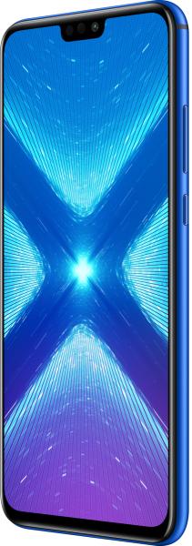 "Honor 8X DualSim blau 64GB LTE Android Smartphone 6,5"" Display 20 Megapixel"