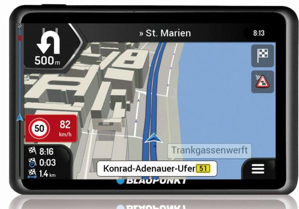 Blaupunkt Travelpilot 65 Active Connect EU 6,2 Zoll Gesamteuropa Bluetooth