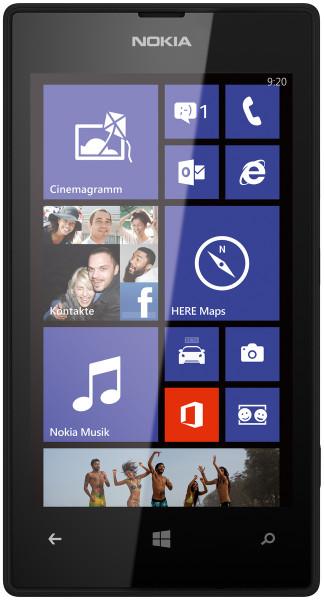 Nokia Lumia 520 schwarz 8GB Windows Smartphone ohne Simlock 4 Zoll Display 5 MPX
