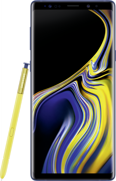"Samsung Galaxy Note 9 DualSim blau 128GB LTE Android Smartphone 6,4"" Display"