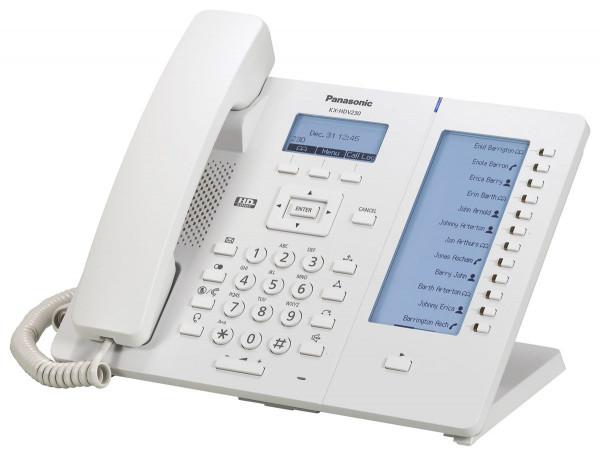 Panasonic KX-HDV230NE SIP Telefon weiß