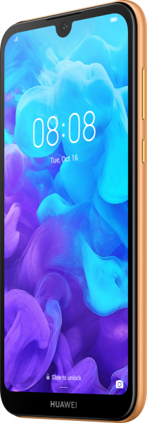 """Huawei Y5 2019 DualSim Amber Brown 16GB LTE Android Smartphone 5,71"""" 13 MPX"""