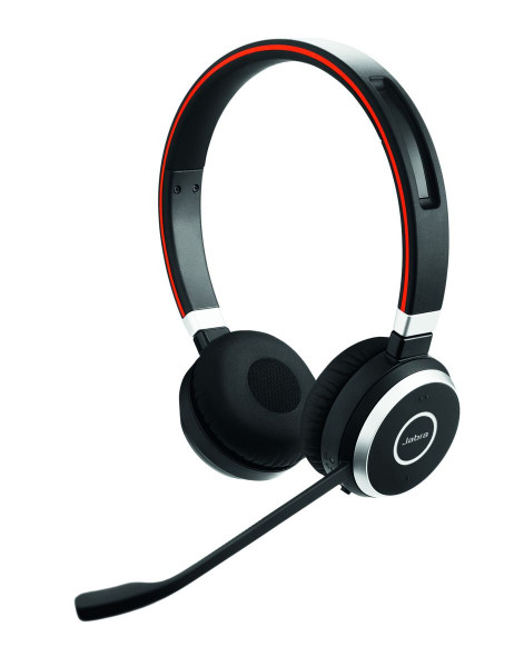 JABRA Evolve 65 UC Duo USB NC Voip Bluetooth Stereo Schnurlos