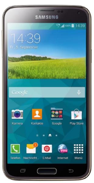 Samsung G901F Galaxy S5+ Plus LTE+ schwarz 16GB Telekom Android Smartphone 16MPX