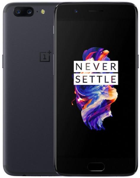 OnePlus A5010 5 DualSim grau 64GB