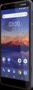 "Nokia 3.1 DualSim blau 16GB LTE Android Smartphone 5,2"" Display 13 Megapixel"