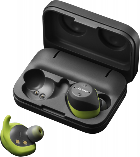 JABRA Elite Sport Bluetooth Headset grau/grün Bluetooth In-Ear Stereokopfhörer