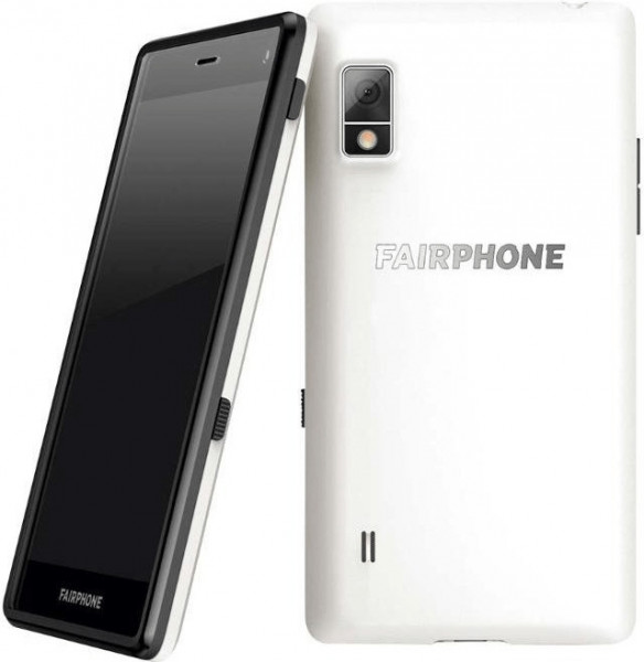 "Fairphone 2 DualSim weiß 32GB LTE Android Smartphone 5"" Display 8 Megapixel"