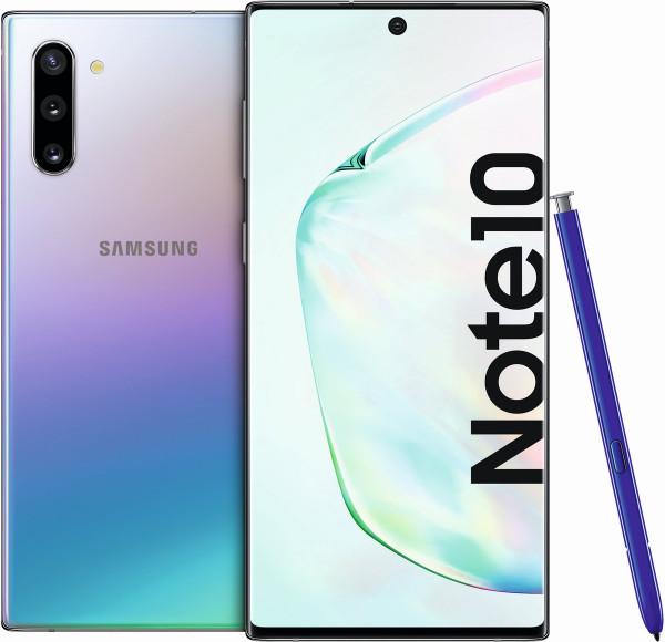 "Samsung N970F Galaxy Note 10 DualSim Aura Glow 256GB LTE Android 6,3"" 12 MPX"