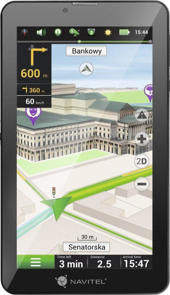"""Navitel T700 3G Navi 7"""" Android Tablet PKW-Navigationsgerät Europa Kamera"""
