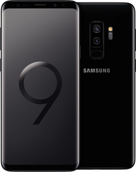 "Samsung G965F Galaxy S9+ schwarz 256GB LTE Android Smartphone 6,2"" Display 12MPX"