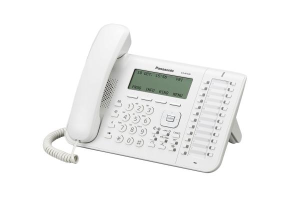 Panasonic KX-NT546NE IP Systemendgerät weiß
