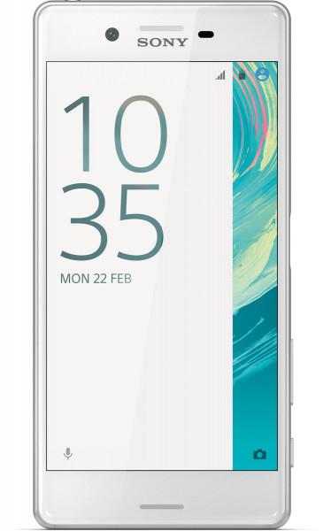 "Sony Xperia X weiß 32GB LTE Android Smartphone 5"" Display ohne Simlock 23 MPX"