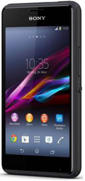 """Sony Xperia E1 D2005 Schwarz Android Smartphone Ohne Simlock 4"""" Display 3,2MPX"""