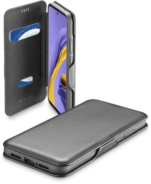 Cellularline Book Clutch 2 für Samsung Galaxy A51 schwarz