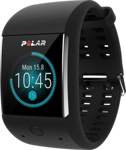 Polar M600 schwarz Aktivitätstracker Herzfrequenz Messung Fitnessuhr