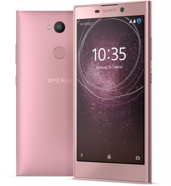 """Sony Xperia L2 pink 32GB LTE Android Smartphone ohne Simlock 5,5"""" Display 13MPX"""